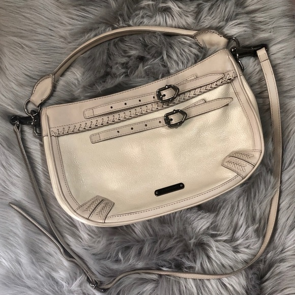 Burberry Handbags - Burberry Crossbody Bag in Beige. 100% Authentic!